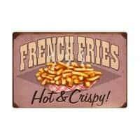 Plaque publicitaire Diner XL – French Fries