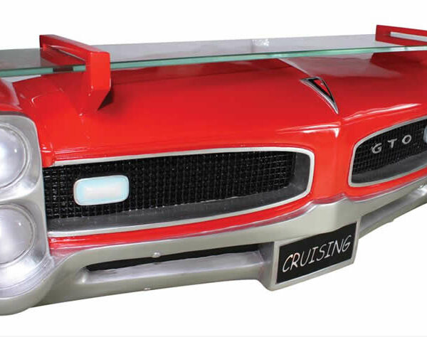 7580-85 Pontiac GTO Etagere murale en resine pour deco americaine