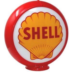 shell Globe publicitaire de pompe a essence