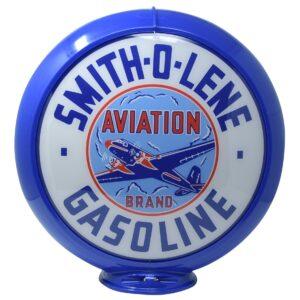 Smith O Lene Globe publicitaire de pompe a essence