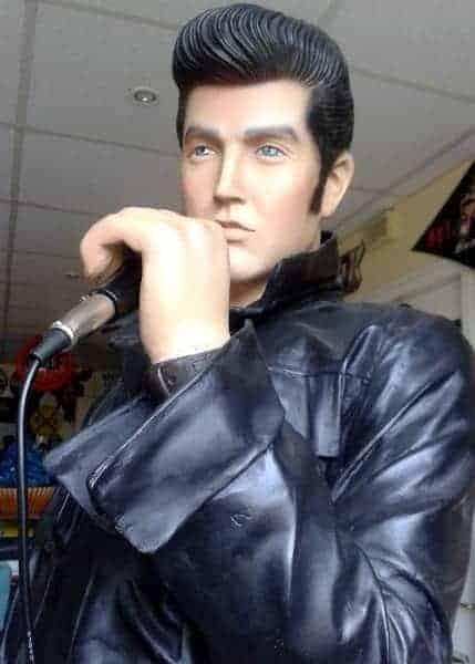 Statue Elvis Presley 1968's