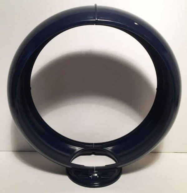 Contour en plastique Bleu globe pompe à essence