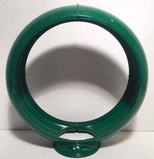 Contour en plastique Vert globe pompe à essence
