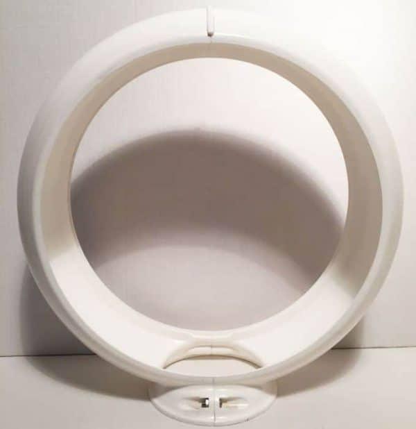 Contour en plastique Blanc globe pompe à essence