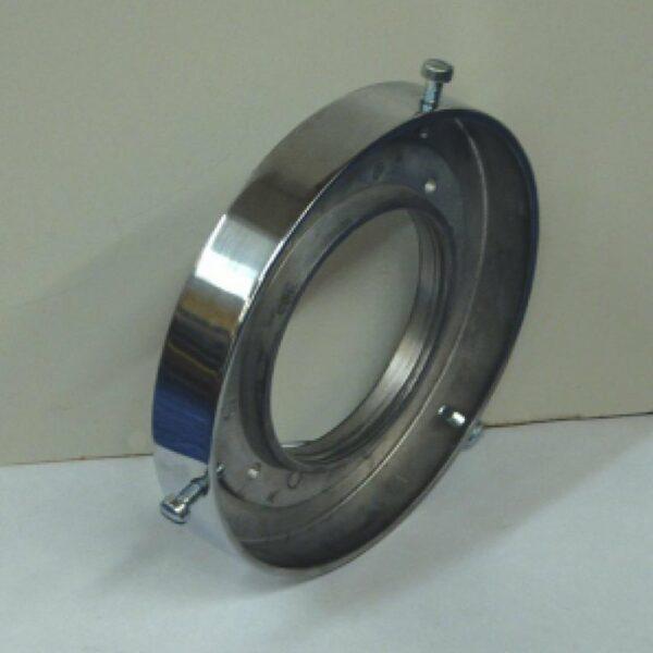 Support en aluminium pour globe de pompe a essence