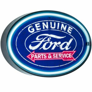 Enseigne neon led decoration americaine murale Ford Parts Service