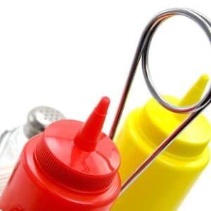 Distributeur de Ketchup et Moutarde