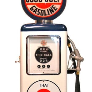 Pompe à essence americaine 8 Ball That Good Gulf Gasoline