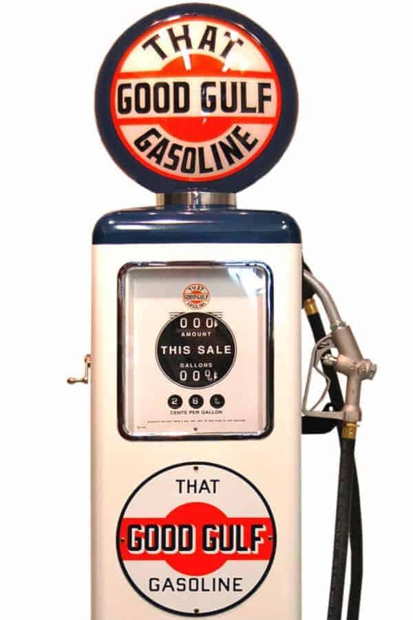 Pompe à essence Américaine – Gulf «That Good»