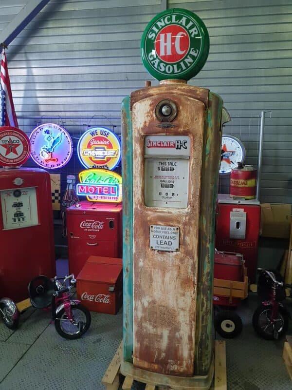 Pompe à essence BENNETT 646 SINCLAIR HC Vintage