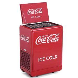 Caisse en Bois, Vendo et Glacières Coca-Cola, Pepsi-Cola, Dr Pepper