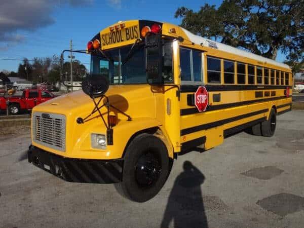 School Bus Américain Freightliner Thomas