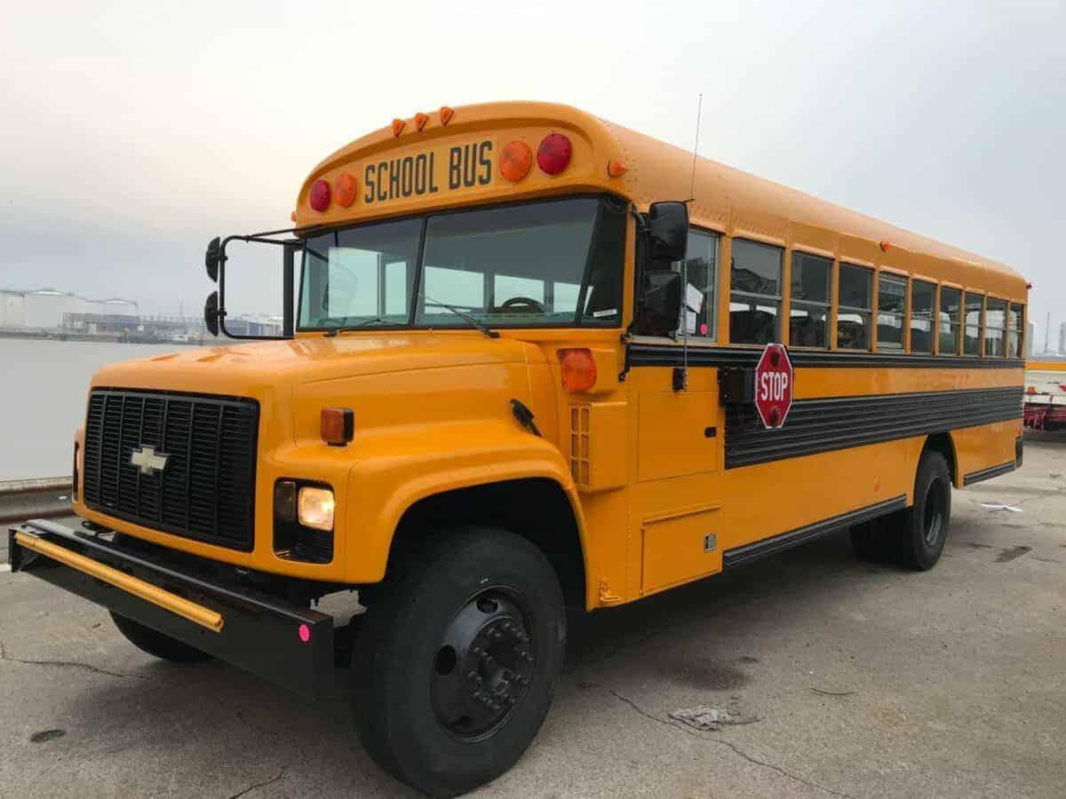 School Bus Jaune Americain