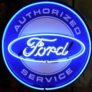 NF 8338 Ford Service neon publicitaire americain