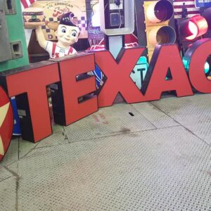 Enseigne De Station Service Texaco Et Star Sign 1