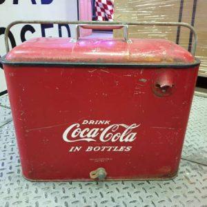 Glaciere Airline Cooler Coca-Cola 1940's / 1950's