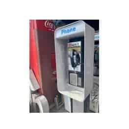 Payphone de rue américain