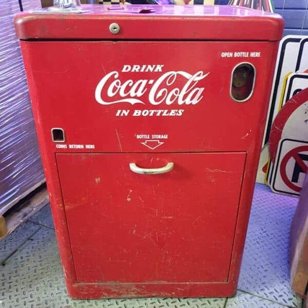 Vendo A23E Spin Top de la marque de soda americain Coca Cola