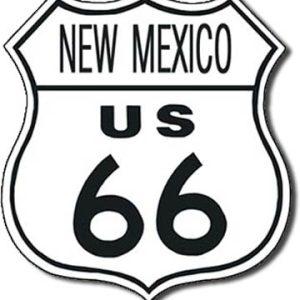 Plaque de décoration murale Route 66 NEW MEXICO