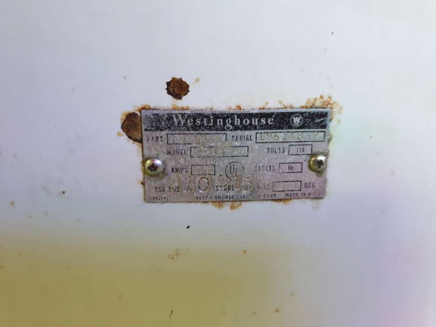 1952 WESTINGHOUSE WH12T - Coca Cola machine réfrigérante