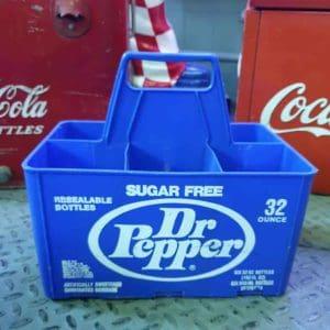 Caisse de transport de bouteilles de soda Dr Pepper
