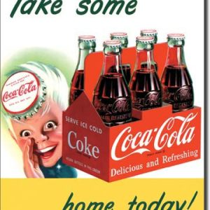 Plaque publicitaire The Coca-Cola Company - Sprite Boy