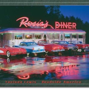 Plaque publicitaire américaine métal L.Lewis - Rosie's