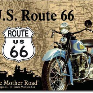 Plaque de décoration murale Route 66