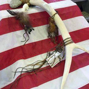 Native American Indian Antler Spirit Tomahawk