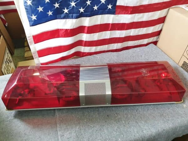 Rampe Lumineuse SMITH & WESSON de véhicule de pompier américain
