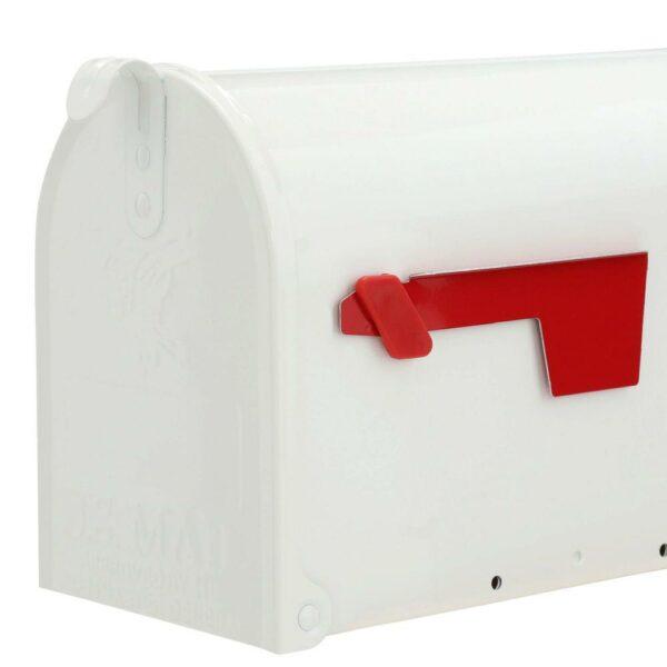 Boîte aux Lettres Américaine Blanche