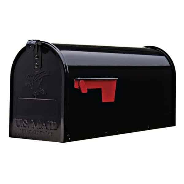 Boites aux lettres neuves authentiques americaines_noire