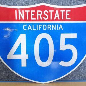 Panneau Interstate Highway CALIFORNIA 405
