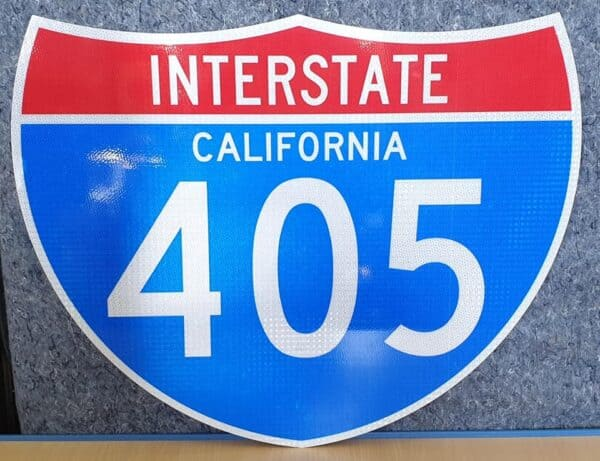 Panneau Interstate Highway CALIFORNIA 405