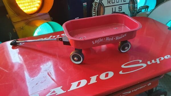 Little Red Racer – Pull Wagon