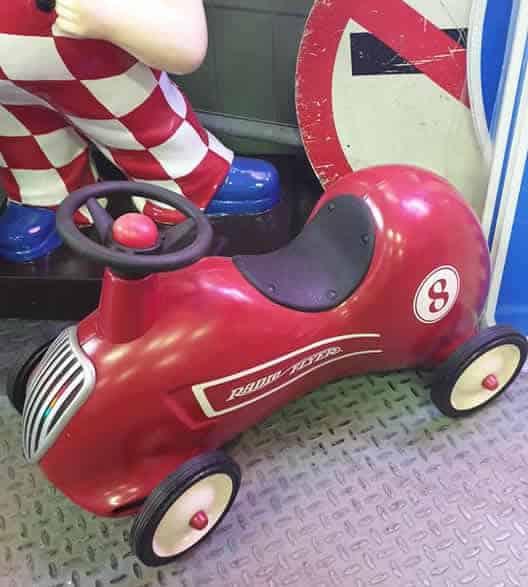 Radio Flyer Seat Car vintage