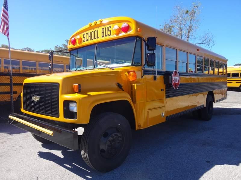 School Bus Américain Aménagé