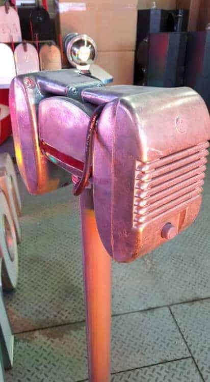 Haut Parleur de DRIVE-IN RCA sur socle