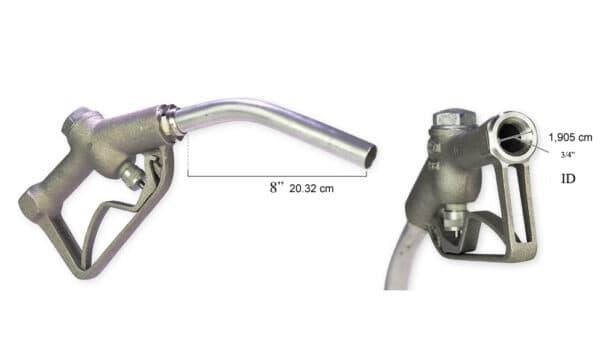 Pistolet Aluminium pour Pompe à Essence 3/4″