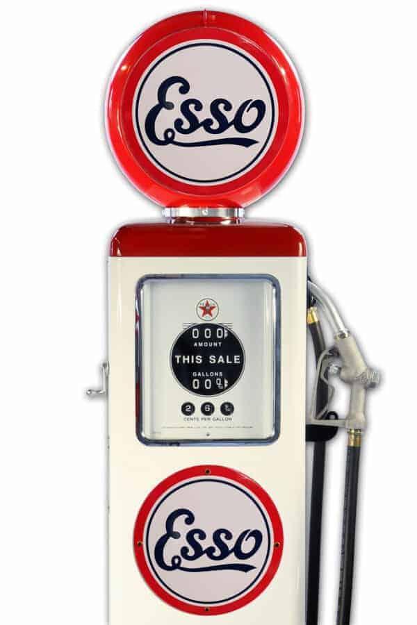 Pompe à essence américaine – Esso