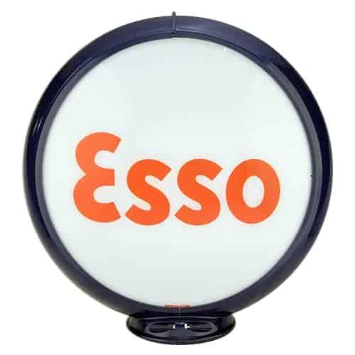 Esso Block Globe de pompe a essence americaine