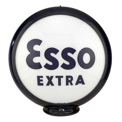 Esso Extra Globe de pompe a essence americaine