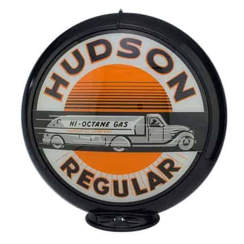 Hudson Regular Globe publicitaire de pompe a essence