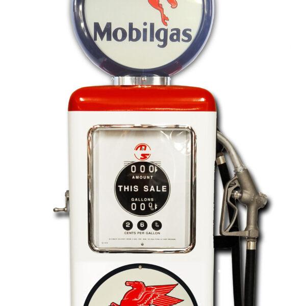 Pompe a essence americaine Mobilgas