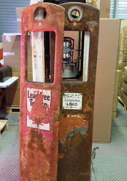Pompe a essence americaine Bennett 600 serie