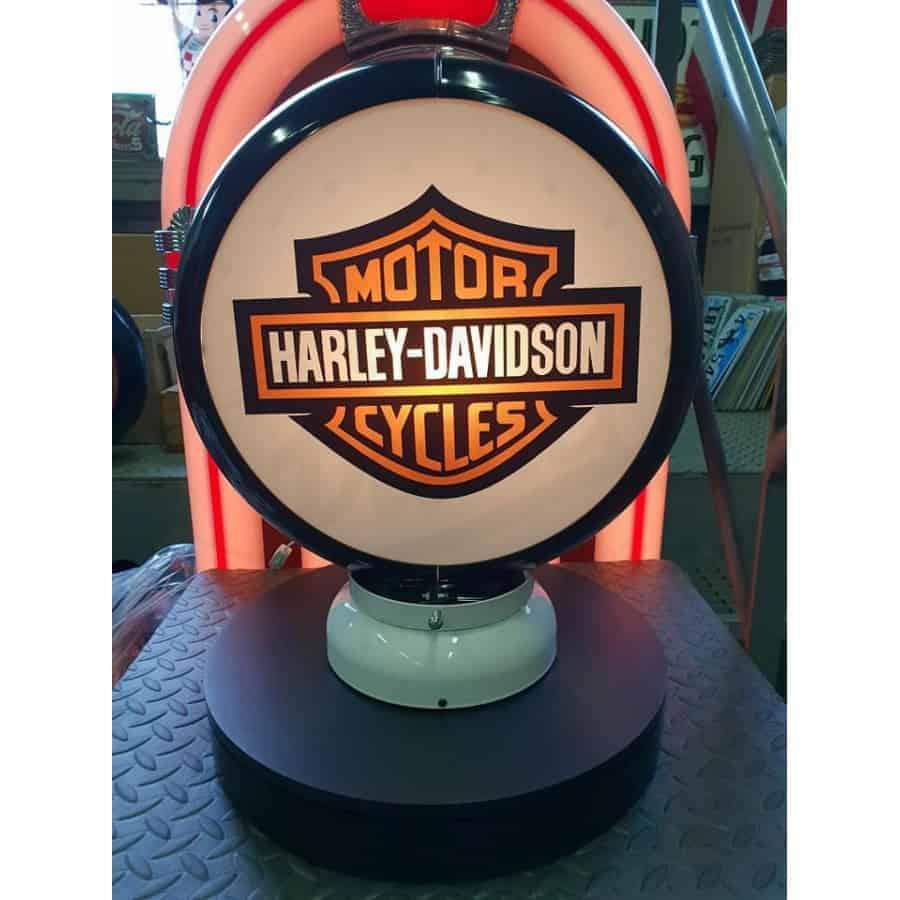 Globe De Pompe A Essence Harley Davidson Cycle