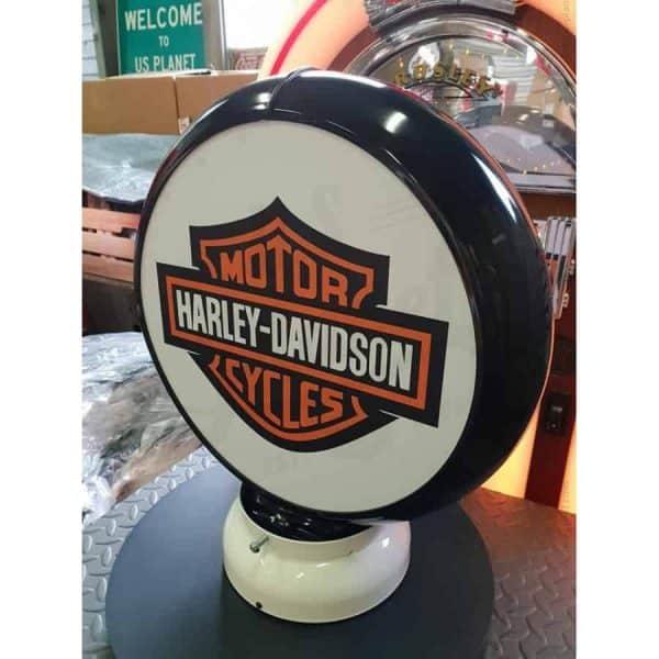 Globe De Pompe A Essence Harley Davidson Cycle 1