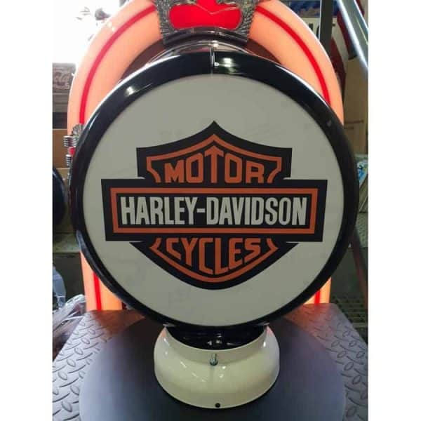 Globe De Pompe A Essence Harley Davidson Cycle 2