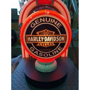 Globe De Pompe A Essence Harley Davidson Genuine Gasoline