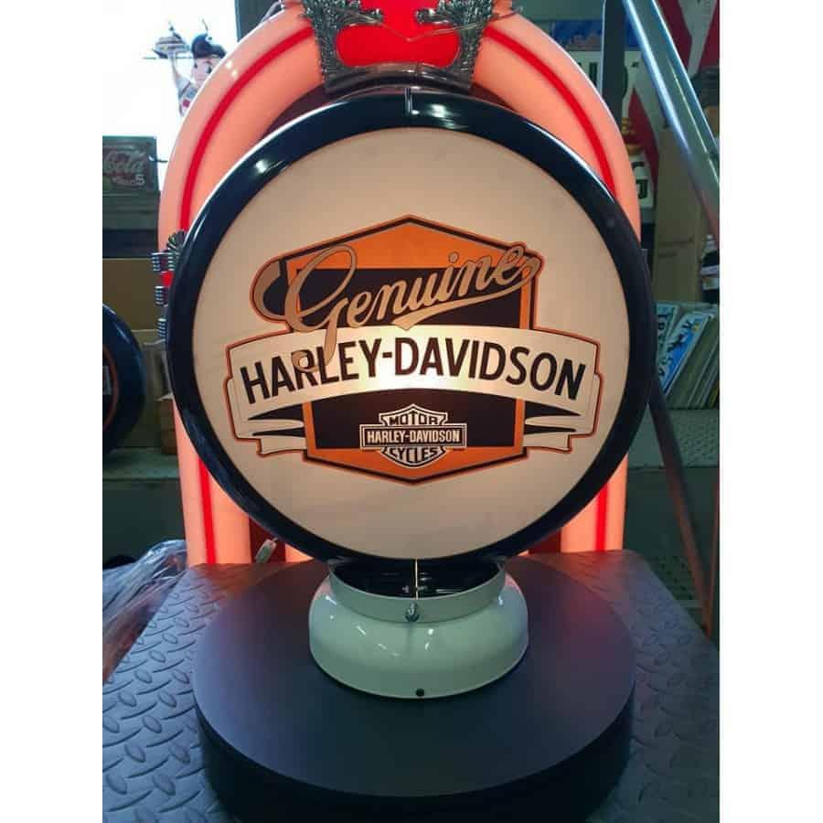 Globe De Pompe A Essence Harley Davidson Genuine